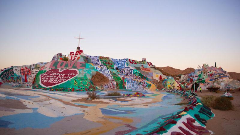 Salvation Mountain en Californie: une cathédrale d'un genre particulier | © Flickr/channone/CC BY 2.0