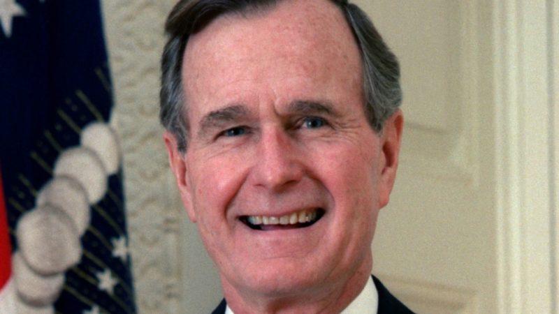 Le 41e président des Etats-Unis, George H.W. Bush (1924-2018) | domaine public