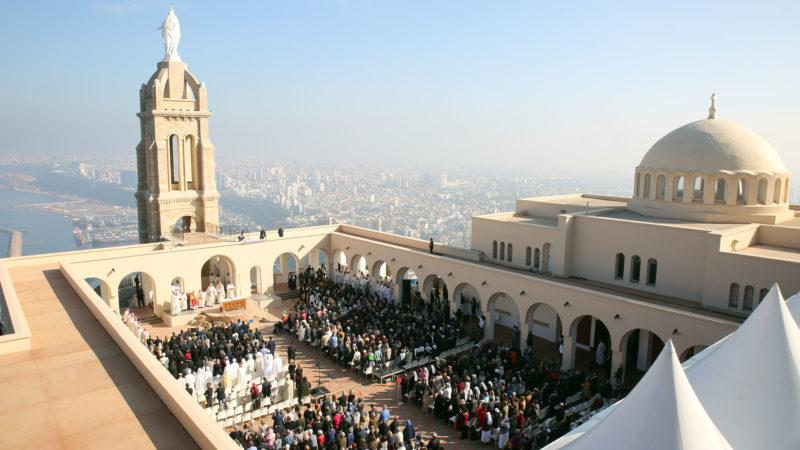 Le sanctuaire de Notre-Dame de Santa Cruz, sur les hauteurs d'Oran. | © B. Hallet