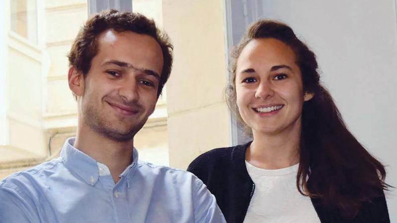 """Côme Besse et sa sœur Astrid ont co-fondé """"Divine box"""" en 2017.   D.R."""