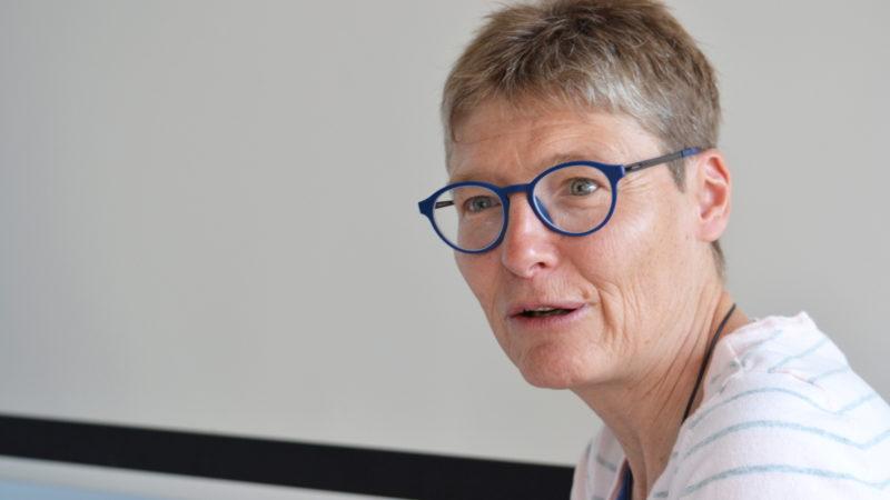 Cristina Vonzun, directrice du Centre catholique des médias de Lugano | © Regula Pfeifer