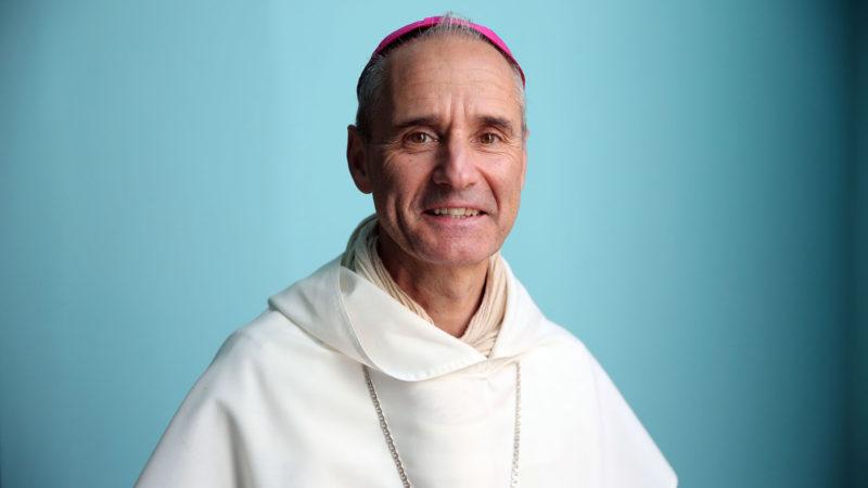 Oran le 9 décembre 2018. Cathédrale Sainte-Marie-Paul Vesco, évêque d'Oran. | © B. Hallet