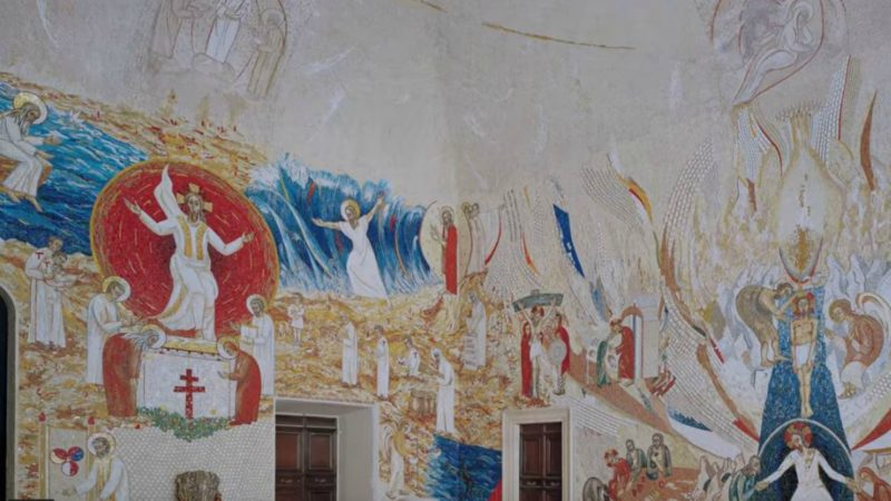 La chapelle Redemptoris Mater, au Vatican   Capture d'écran