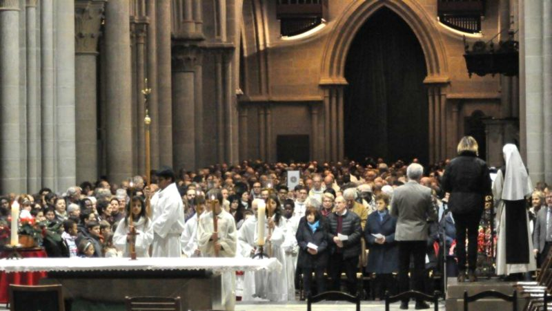 Messe à la cathédrale Notre-Dame de Lausanne | © Olivier Schöpfer