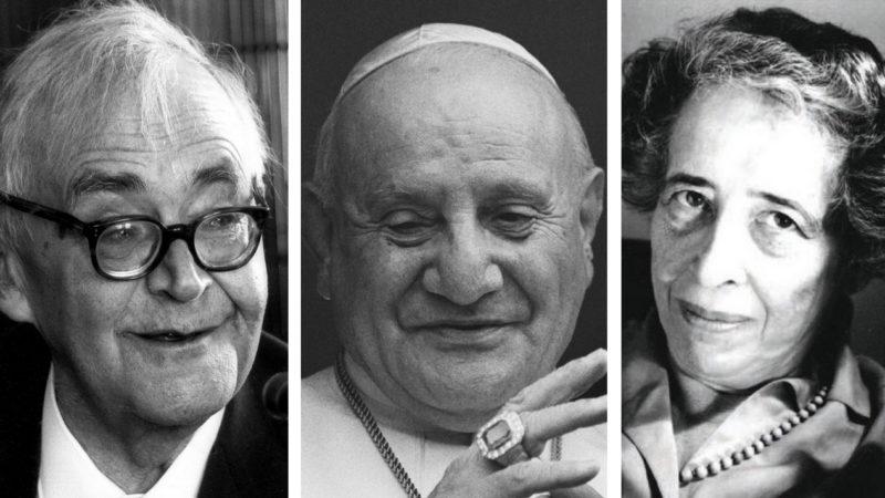 Karl Barth, Jean XXIII et Hannah Arendt débattent des Droits de l'Homme | DR