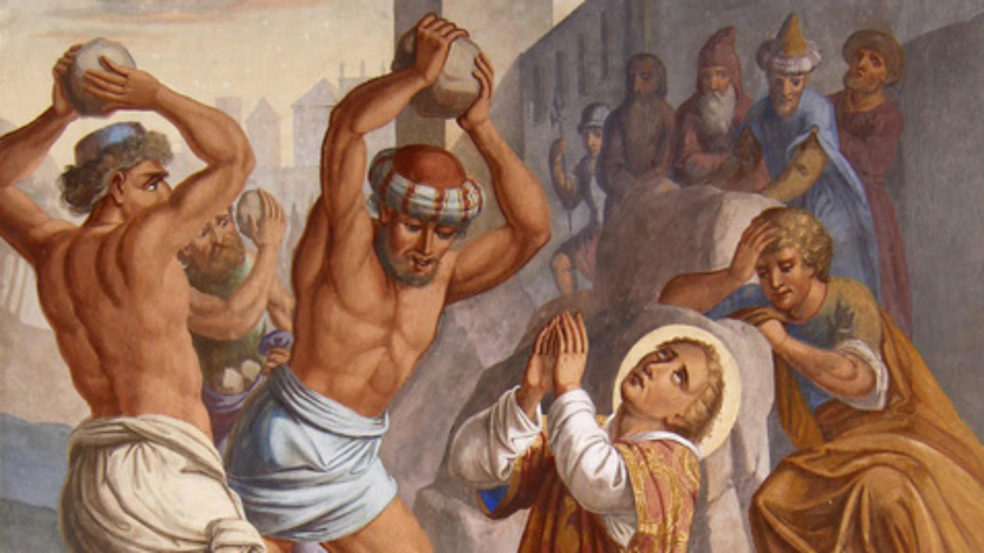 Les martyrs de l'Eglise primitive -  À lire ! Merci mon Dieu de pouvoir encore professer notre foi ♥ Saint-etienne