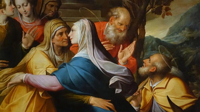 La visitation de Camillo Procaccini, 1602 | Blanton Museum of Art - Austin