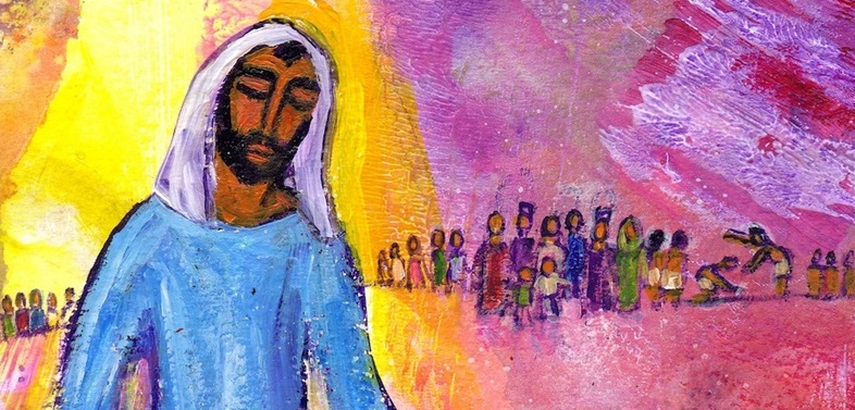 """""""Tu es mon Fils bien-aimé""""/Photo:evangile-et-peinture.org"""