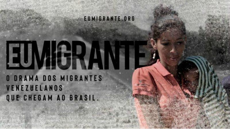 Campagne de Caritas Brésil #MoiMigrant | Capture d'écran
