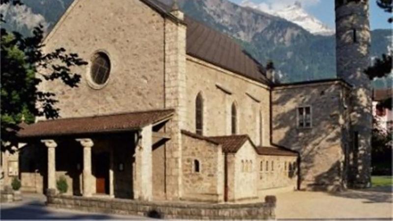 L'église de Bex sera en travaux durant une bonne partie de 2019. | DR