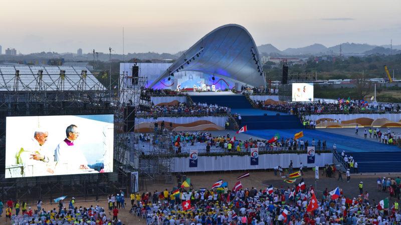 Metro Park, à Panama, a été baptisé Parc Jean-Paul II à l'occaison de JMJ | © Grégory Roth