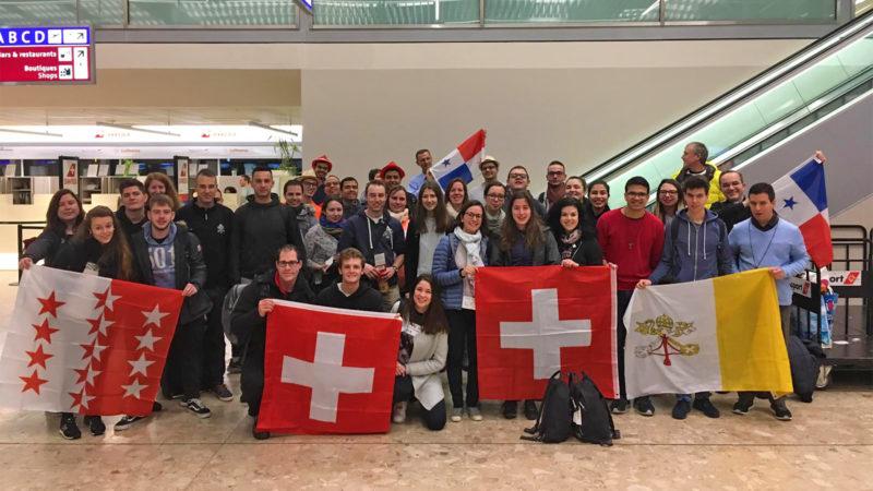 JMJ: le premier groupe suisse romand et tessinois au départ | ©JMJ