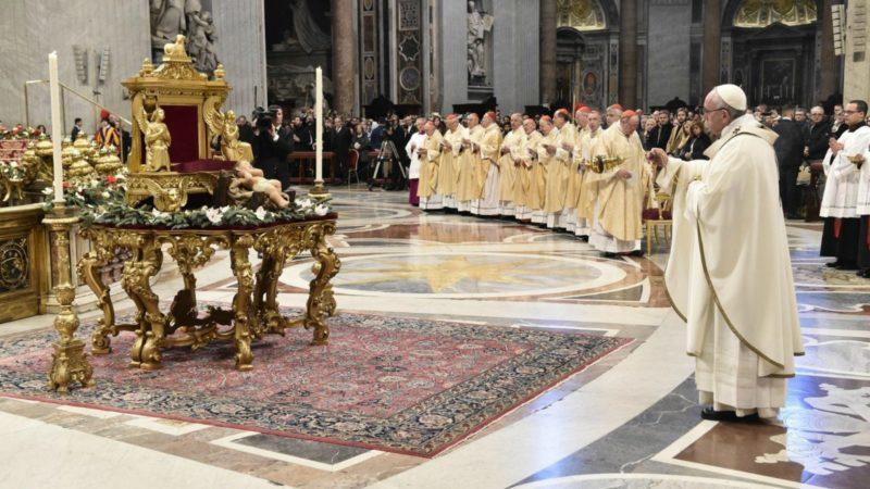 Le pape célèbre la fête de l'Epiphanie dans la basilique Saint-Pierre | © Vatican Media