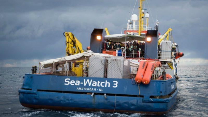 Les migrants sont restés plus de deux semaines sur le Sea-Watch | © thechurchinmalta.org