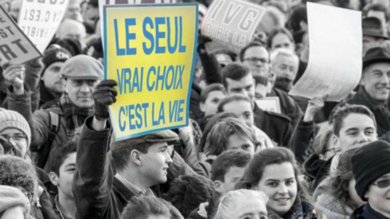Marche pour la Vie à Paris le 20 janvier 2019