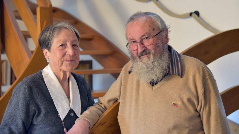 Monique et Noël Ruffieux sont mariés depuis près de 60 ans | © Raphaël Zbinden