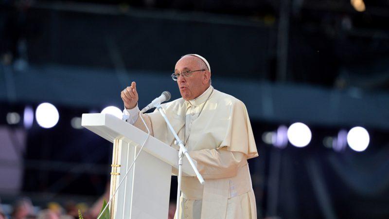 Après Cracovie et Rio, le pape aura l'occasion de faire passer des messages forts auprès des jeunes.   © Mazur/episkopat.pl