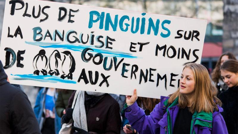 La grève pour le climat a rassemblé des milliers de jeunes en formation dans toute la Suisse le 18 janvier 2019 | © Manifestation pour le climat - Lausanne