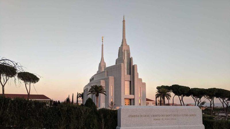 Le nouveau temple mormon de Rome | DR