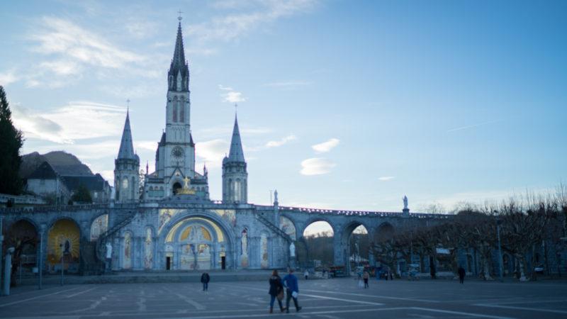 A Lourdes, la chute de fréquentation est spectaculaire | © Pierre Pistoletti