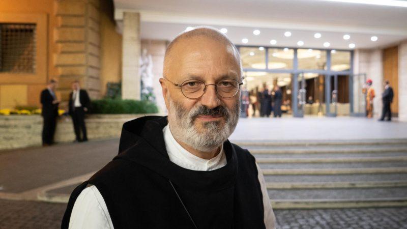 Don Mauro-Giuseppe Lepori, de l'Union des supérieurs généraux, prône une culture de protection | © Pierre Pistoletti