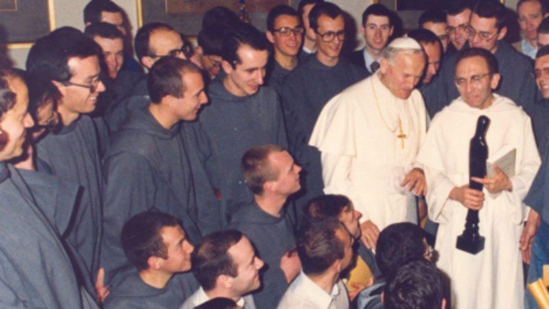 Le Père Marie-Dominique Philippe a enseigné pendant près de quatre décennies à l'Université de Fribourg | © freres-saint-jean