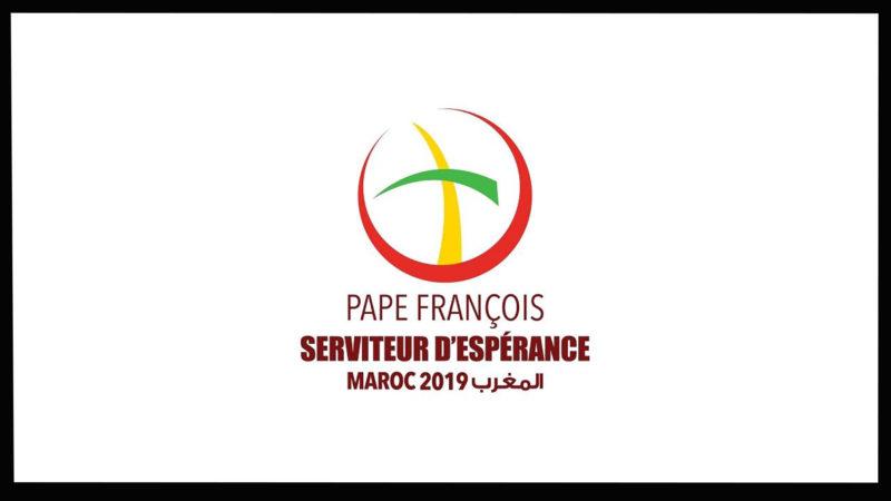 Logo du voyage du pape au Maroc. | DR