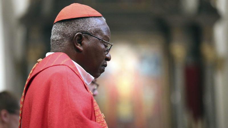 Le Cardinal Philippe Ouédraogo, ici à St-Mauirce en 2017, a participé à la journée de réconciliation au Burkina Faso.   © B. Hallet
