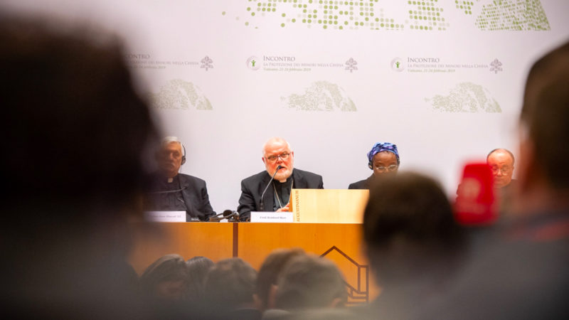 Le cardinal Reinhard Marx, président de la Conférence des évêques allemands, le 23 février 2019  | © Antoine Mekary | ALETEIA | I.Media