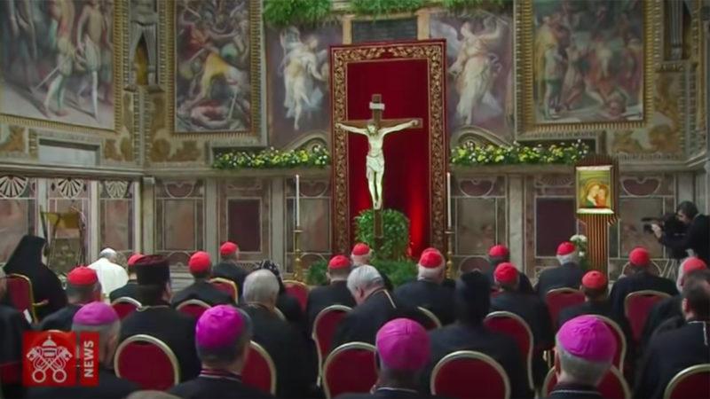 Liturgie pénitentielle au Vatican le 23 février 2019 | © Youtube/Vatican news