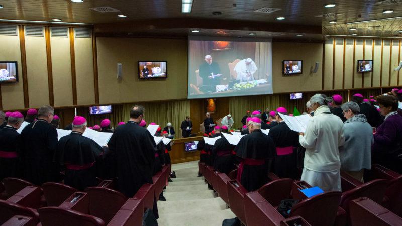 Sommet sur les abus: assemblée plénière du 23 février 2018 | © Antoine Mekary | ALETEIA | I.Media