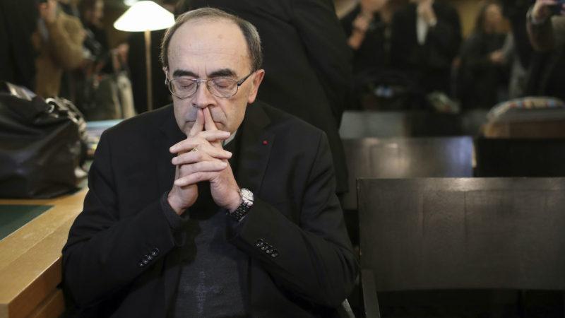 Le cardinal Philippe Barbarin a été reconnu coupable de non dénonciation d'abus sexuels   © Keystone