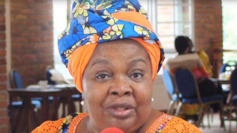 La catholique congolaise Léonie Kandolo, porte-parole du Comité Laïc de Coordination (CLC)   capture d'écran Youtube