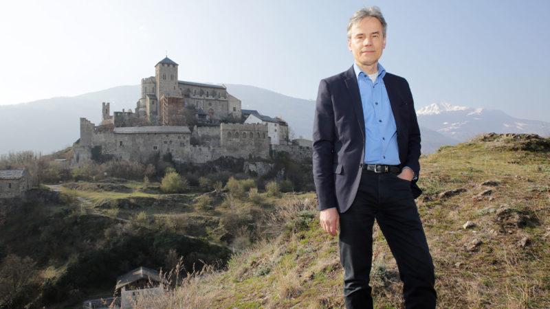 Jean-Raphaël Kurmann a travaillé sur la pastorale du tourisme de la partie francophone du diocèse de Sion.   © B. Hallet
