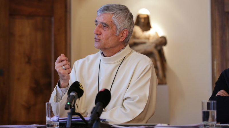 Mgr Jean-Marie Lovey salue l'apport des migrants catholiques pour l'Eglise en Suisse | © B. Hallet
