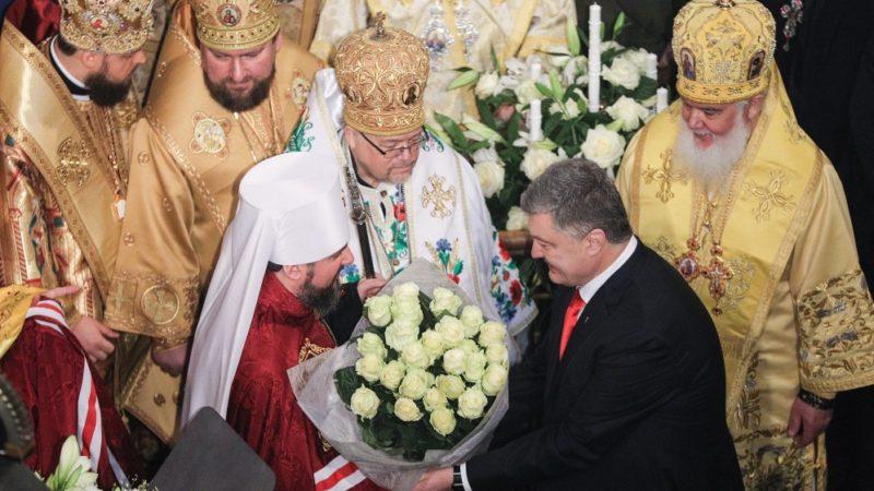 Le président Petro Porochenko a favorisé l'éclosion d'une Eglise indépendante ukrainienne  | © www.president.gov.ua