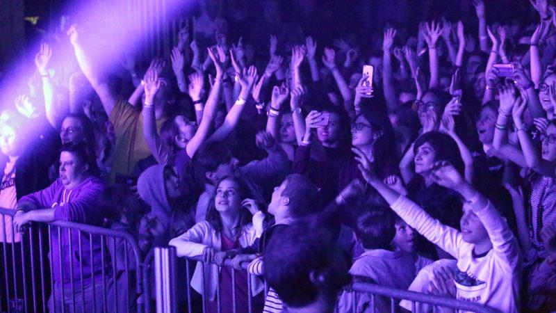 Le groupe Glorious a fait vibrer les jeunes. | © B. Hallet