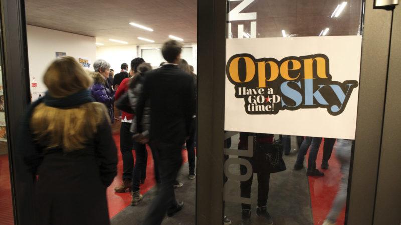 Un millier de jeunes sont attendus à la 3e édition du festival OpenSky, à Fully.   © B. Hallet