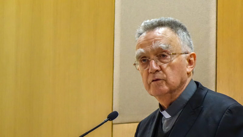 Mgr Georges Pontier, président de la Conférence des évêques de France   © Maurice Page