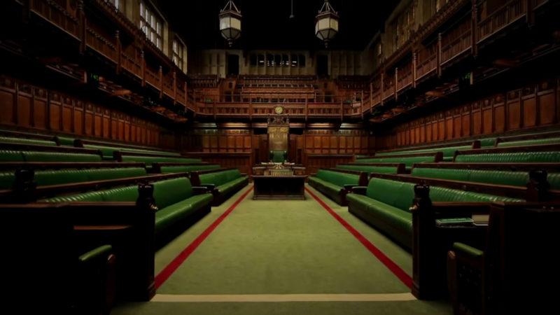 La chambre des communes où, pour la troisième fois, l'accord signé par Theresa May a été refusé   DR