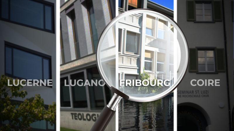 En Suisse, plus de 1300 étudiants suivent un cursus académique en théologie dans l'un des quatre centres de formation catholiques.