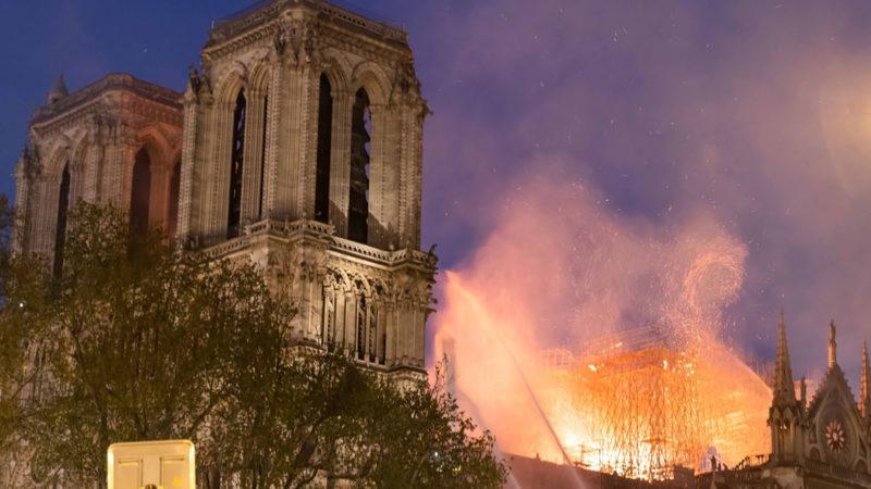 La semaine sainte 2019 commence douloureusement en France. | © Keystone