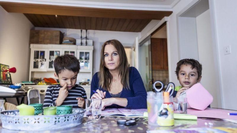 Environ un quart des familles monoparentales sont tributaires de l'aide sociale | © Thomas Plain/Caritas