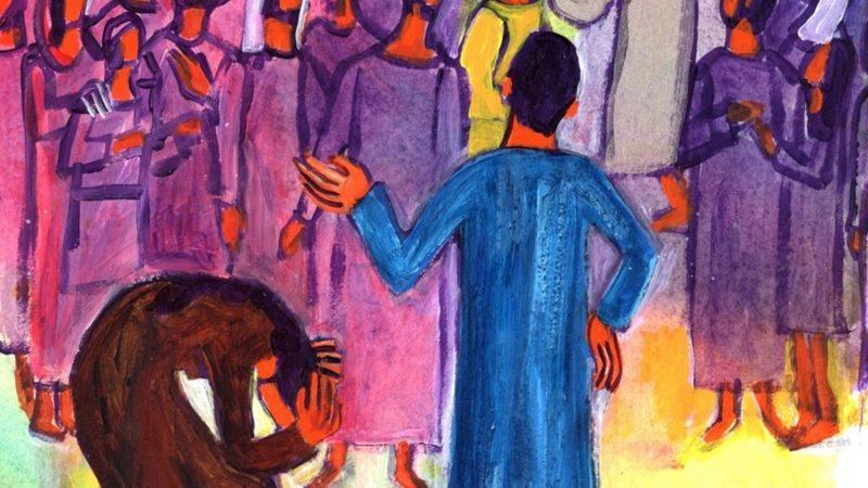 Femme, personne ne t'a condamnée ?/Photo:evangile-et-peinture.org