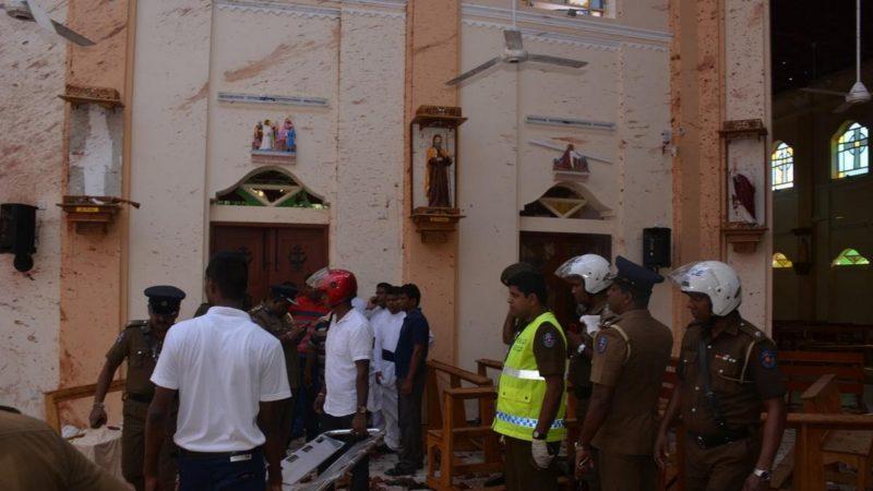 Une violente explosion a tué 91 personnes à l'église Saint-Sebastien de Negombo, le 21 avril 2019 | © Archidiocese of Colombo