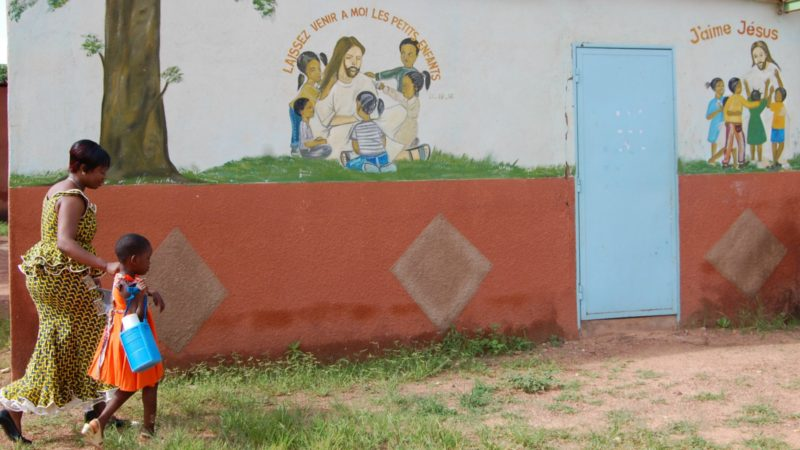 Au Burkina Faso, l'Eglise devient une cible pour les djihadistes qui veulent déstabiliser le pays ©  Jacques Berset