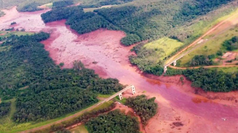 La rupture du barrage de Brumadinho, au Brésil, a fait 270 morts le 25 janvier 2019   wikipedia commons CC BY 3