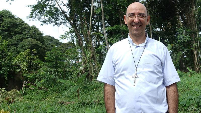 Mgr David Martinez, évêque, vicaire de Puerto Maldonado, au Pérou. | © Jean-Claude Gérez