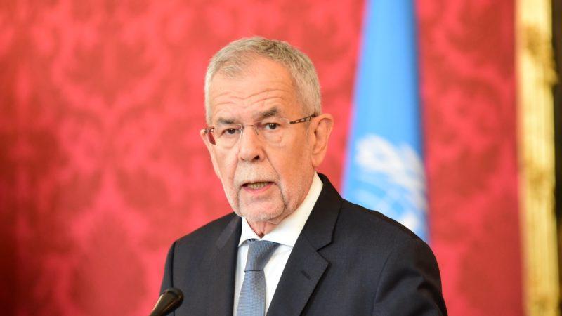 Alexandre van der Bellen, président fédéral de la République d'Autriche | flickr  UNIS Vienna/Lilia Jiménez-Ertl