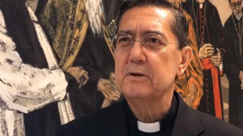 Mgr Ayuso Guixot est un spécialiste du monde arabe (capture d'écran YouTube)